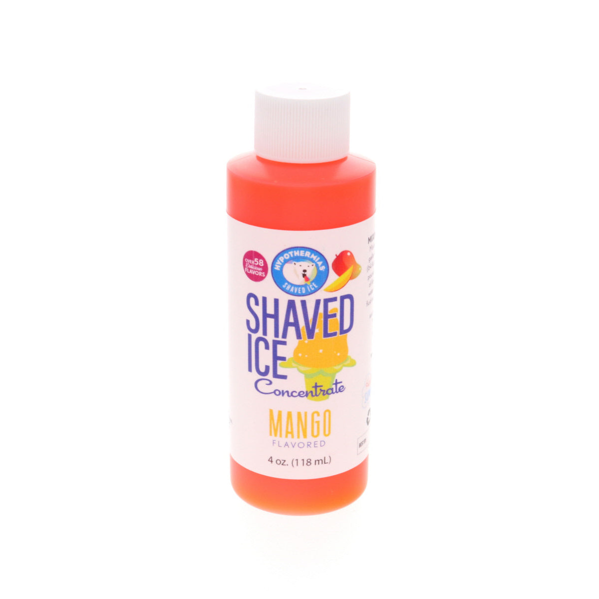 mango shaved ice flavor syrup concentrate 4 Fl Oz