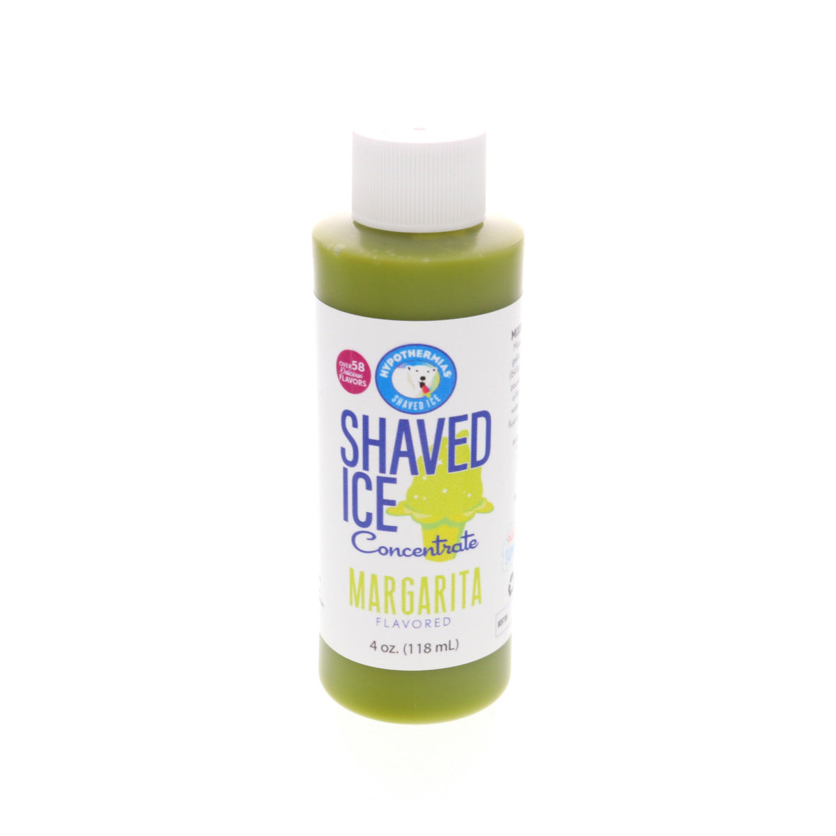 Margarita Hawaiian Shaved Ice Syrup flavor concentrate 4 Fl Oz