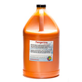Tangerine shaved ice syrup flavor concentrate gallon