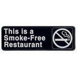 This is a smoke-free restaurant sign