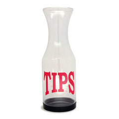 Tip jar with removable bottom