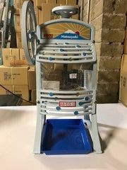 Used manual block ice commercial shaved ice machine