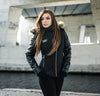 MVL Skull winter jacket - Black [Women]