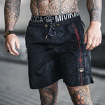 "MVL ""All over logo"" Swimming shorts"
