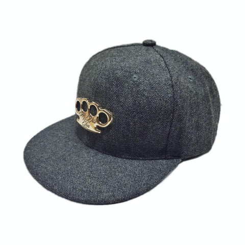"MVL ""Grey denim"" Snapback"