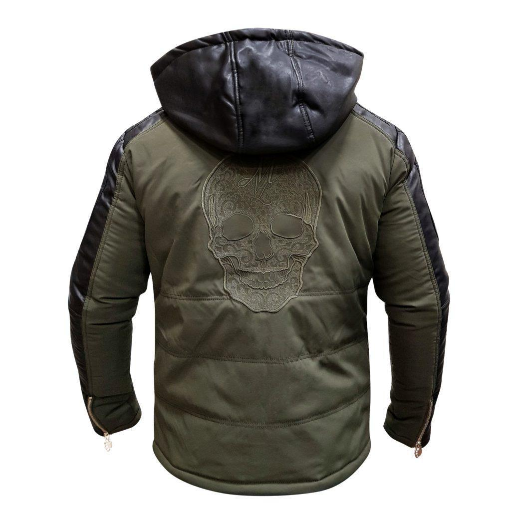 MVL Skull winter jacket - army green [Men]