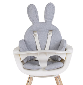 Coussin chaise haute lapin / Liste Pirot