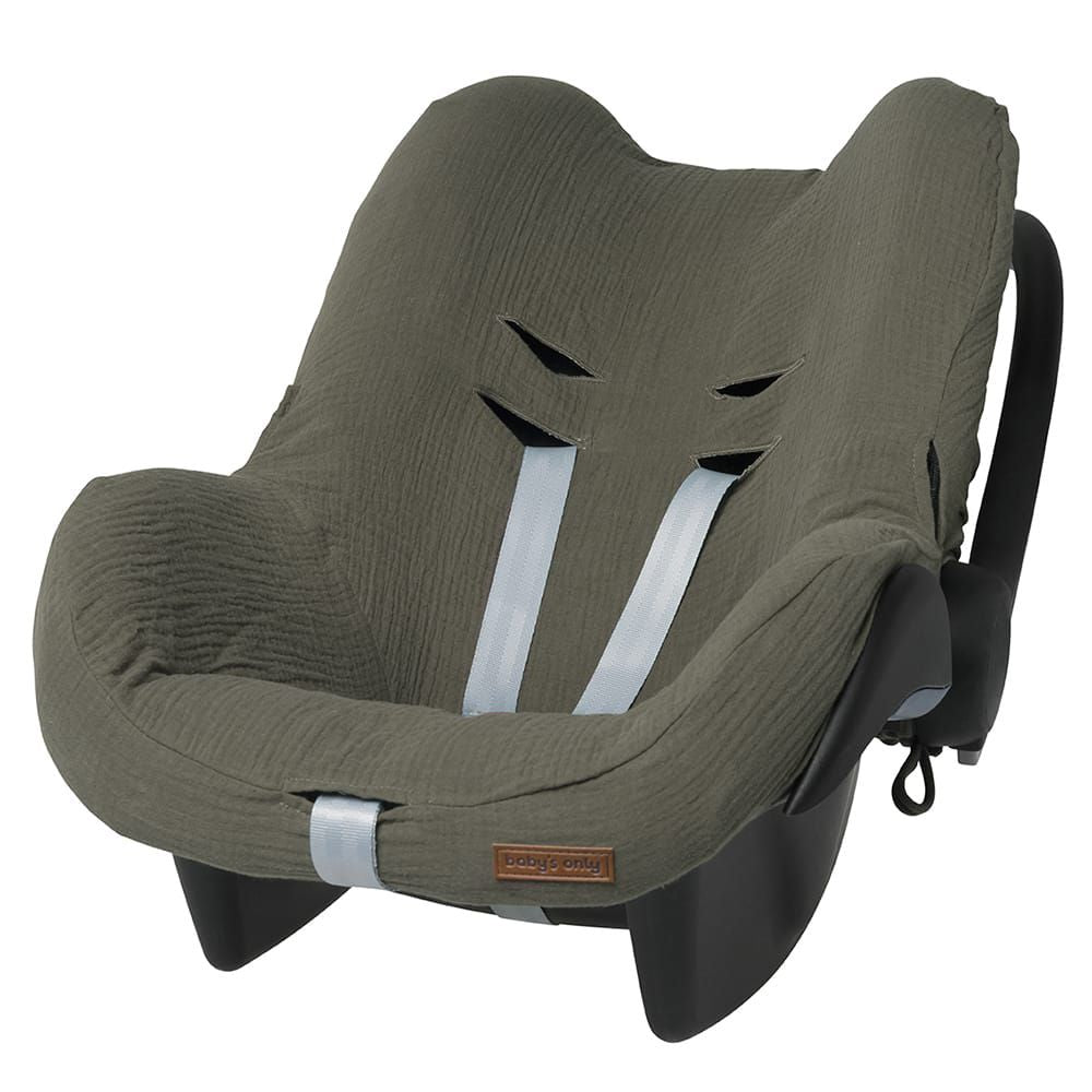 Housse protection siège auto breeze kaki Baby's only / Liste Jess