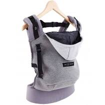 Hoodie carrier gris flanel / Liste Camie