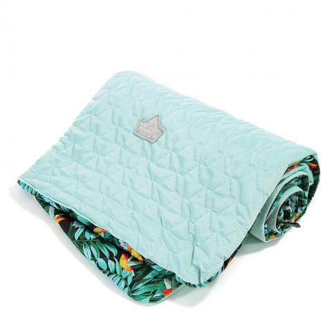 Couverture medium colibri / mint
