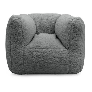 "Fauteuil enfant "" bean bag "" Teddy - storm grey"