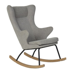 Rocking chair sand grey