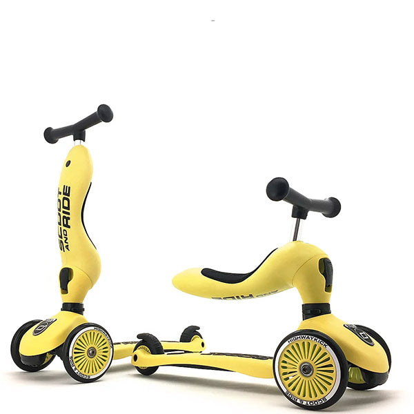 Scoot and ride 2-1 jaune
