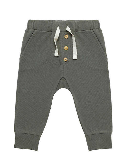Pantalon dusty olive