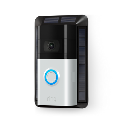 Chargeur solaire (Video Doorbell 3, Video Doorbell 3 Plus et Video Doorbell 4)