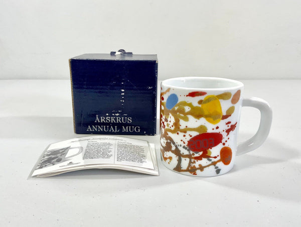 Royal Copenhagen Annual Year Mug 2003 Danish Scandinavian
