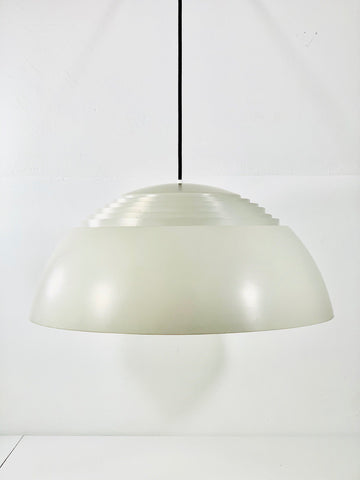 Louis Poulsen Original AJ Royal Danish Pendant Lamp Arne Jacobsen 1960s Ceiling - Scandiwegians