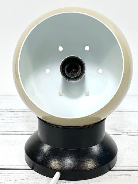 Danish Frandsen Ball Table Wall Lamp Enamel Magnetic Vintage Retro Light Atomic Era - Scandiwegians