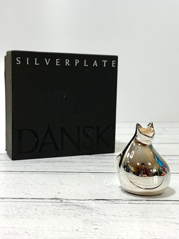 Dansk Cat Paperweight Scandinavian Swedish Design Style Retro Vintage