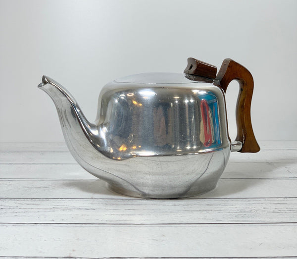 Picquot Ware Teapot 1950s British Design Piquot Dad Fathers Mens Presents Gifts
