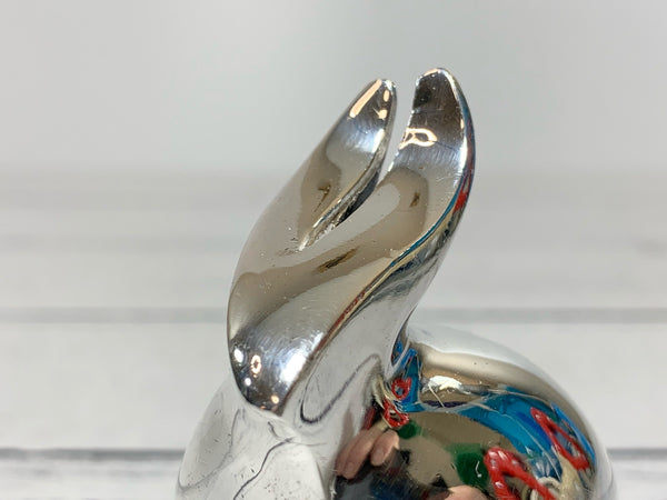 Dansk Silver Bunny Rabbit Paperweight Swedish Danish Designs Gifts Office Work Job Presents Retro