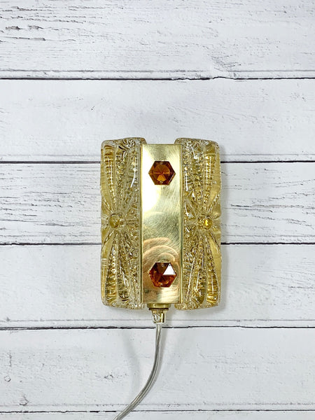 Vitrika Aladdin Danish Glass Sconce Wall Lamp Retro Vintage Lighting - Scandiwegians