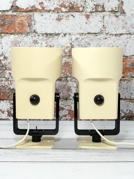 Louis Poulsen Danish Unispot Spotlights Wall Table Lamps Industrial Retro Bedside Lights - Scandiwegians