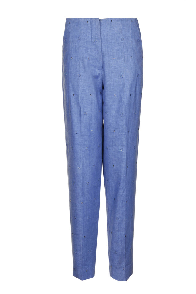 Linen Beaded Trousers TRS23