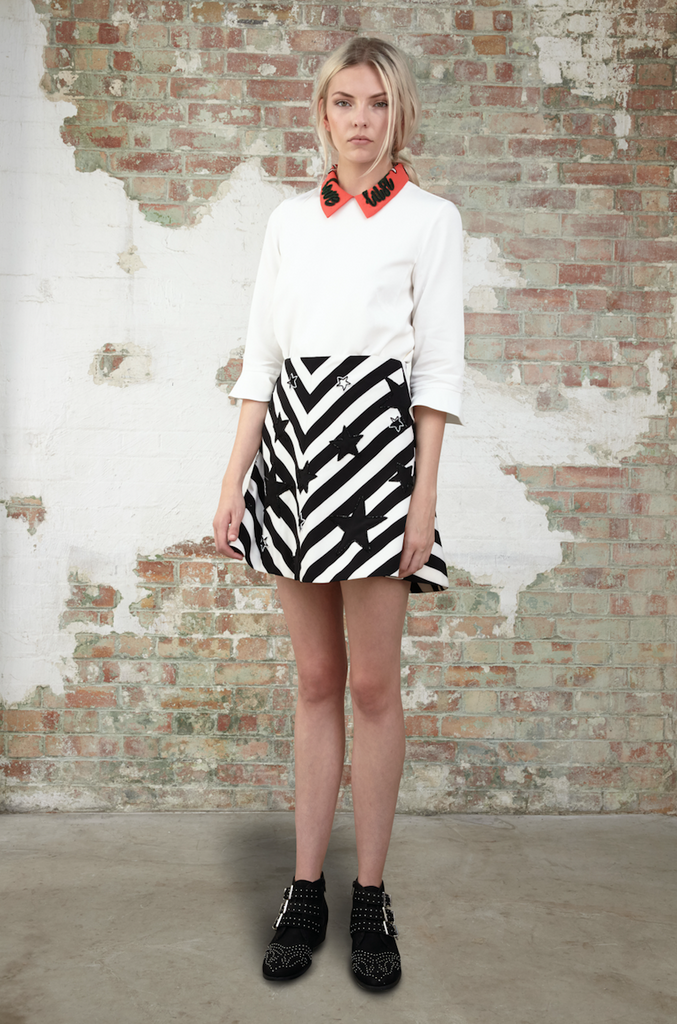 Star and Stripe Skirt SKT51