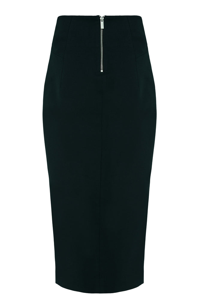 Neoprene Maxi Pencil Skirt SKT27