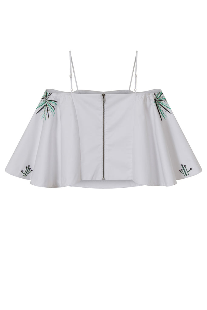 Cactus and Palm Off Shoulder Top TOP128