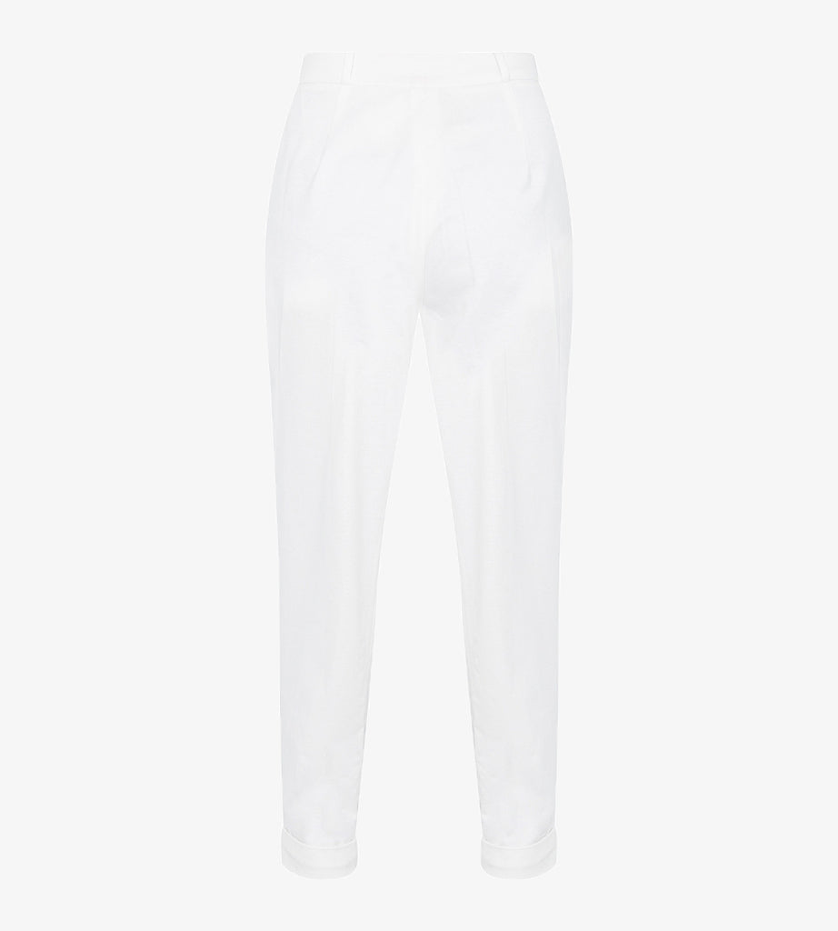 Beaded jersey trousers TRSA10