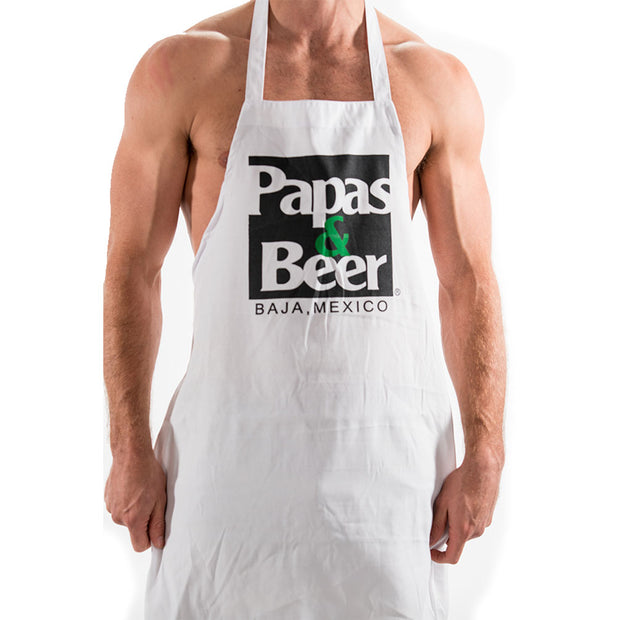 Original Square Apron - White