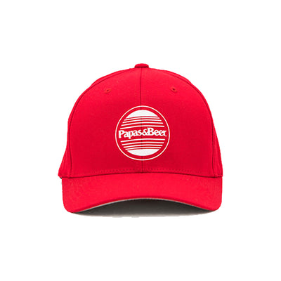 Sunset Flexfit Hat - Red