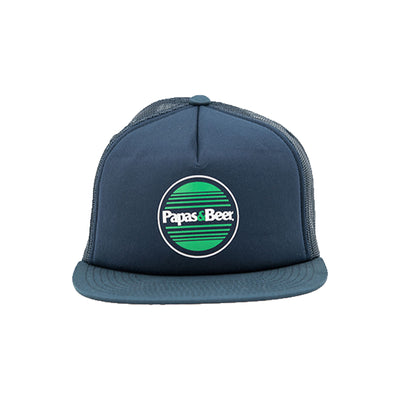 Sunset Trucker Hat - Navy