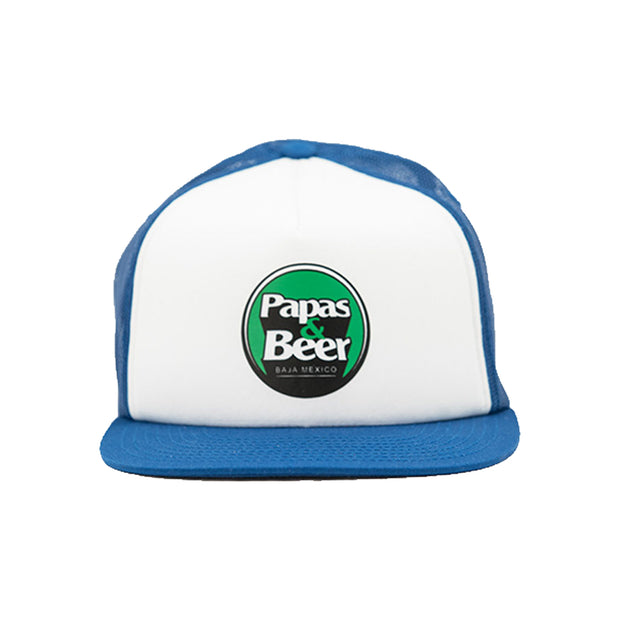 Team Trucker Hat - Blue/White