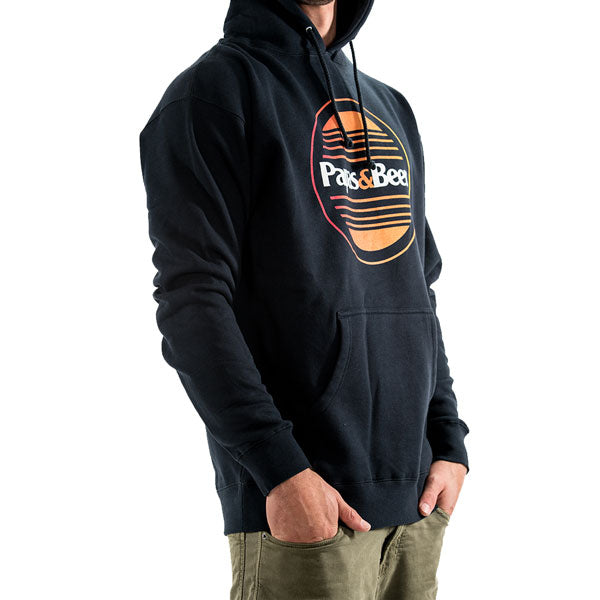 Sunset Pullover Hoodie - Navy