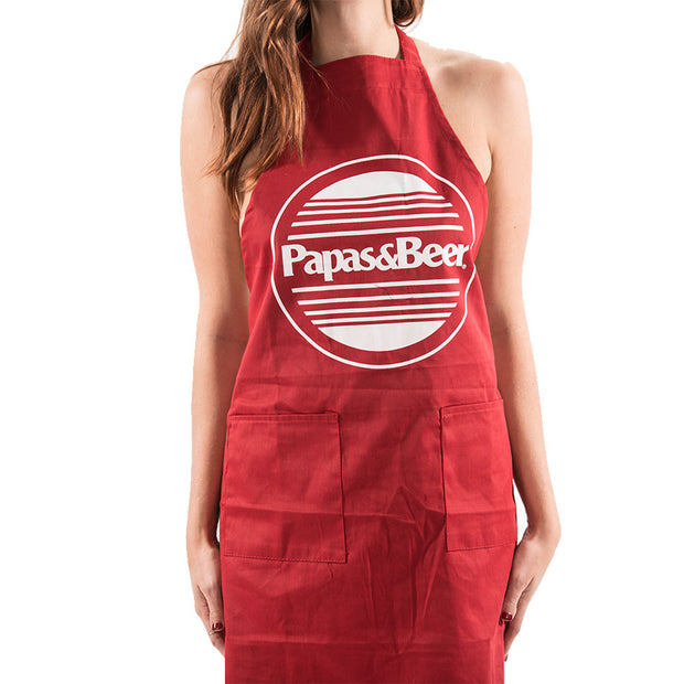 Sunset Apron - Red