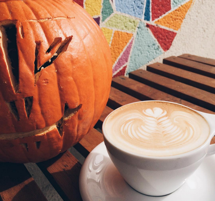 Art, Community, Tasty Coffee and Trick or Treat