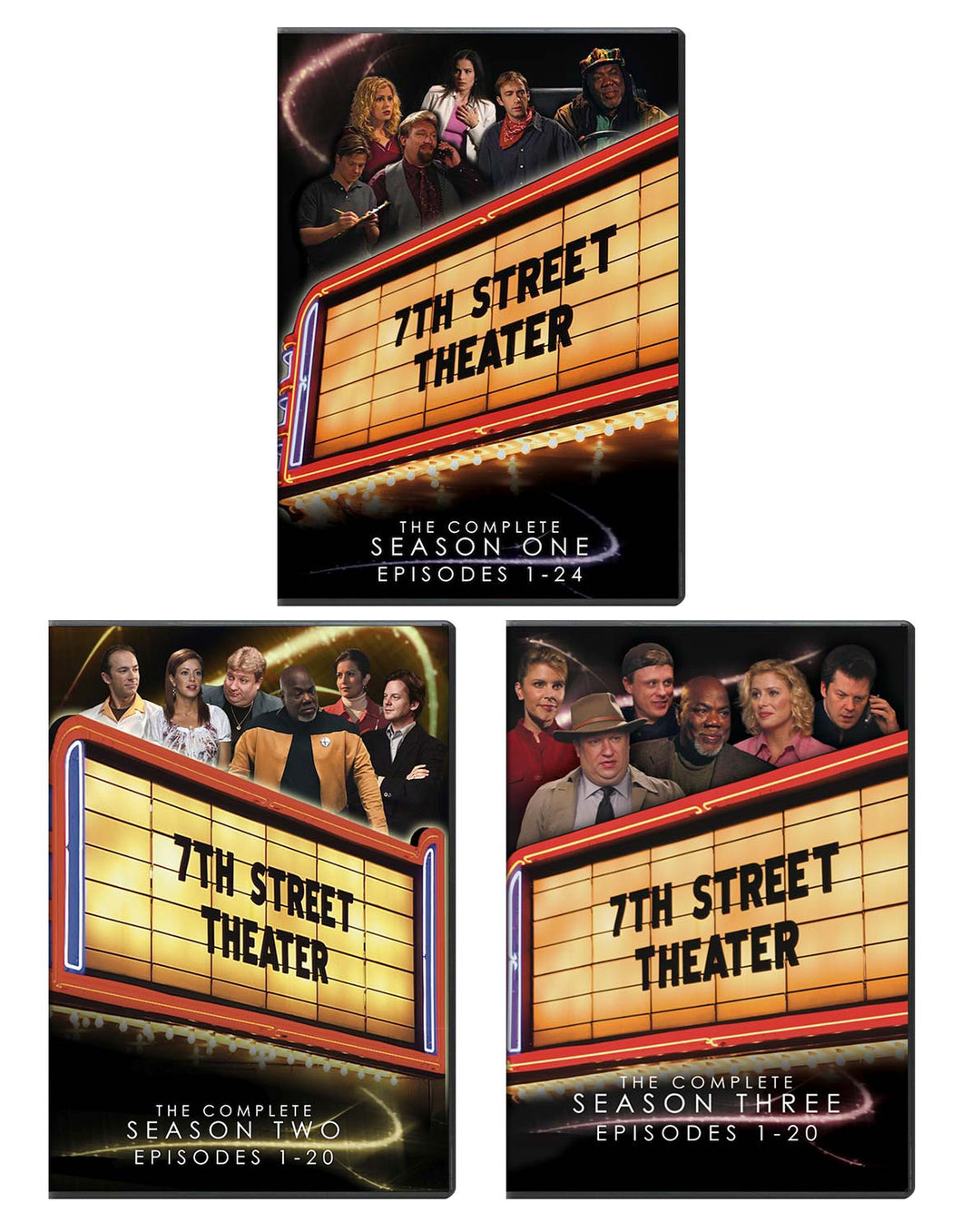 7th Street Theater - All 3 Seasons - DVD - 3 Pack