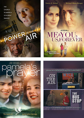 SPECIAL 4 PACK - Power of the Air, Me & You Us Forever, Pamela's Prayer, On The Air / The Bus Stop - DVD - 4 Pack
