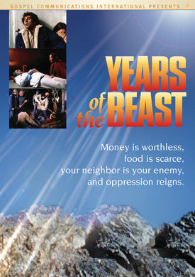 Years of the Beast - DVD