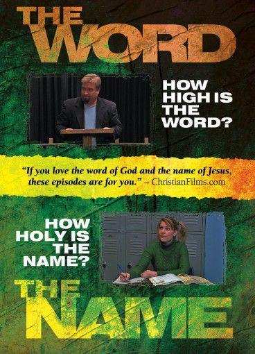 the word the name movie dvd pack