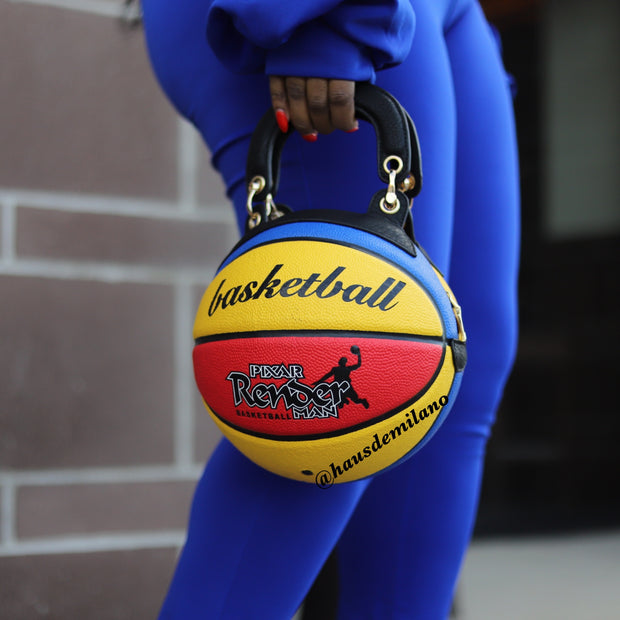 Globetrotters Basketball Bag ships by 2/20