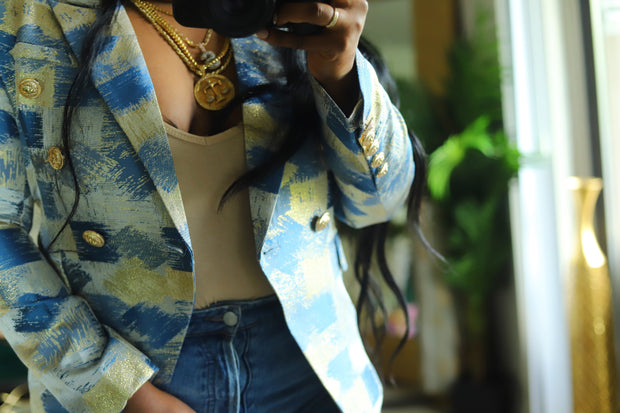 Regal Abstract Blazer Pre Order ships by 6/15