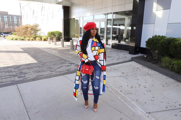 Lego my Love cardigan (Pre order) ships by 3/25-4/5