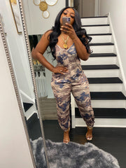 Comfort Chic by SM collection - Camo Flaunt Jumpsuit ships 5/25-6/5