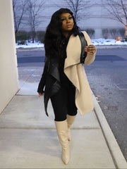 Noir La Creme Coat ( HDM Winter collection ) Pre order ships by 4/31-5/15