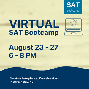 Virtual August SAT Bootcamp