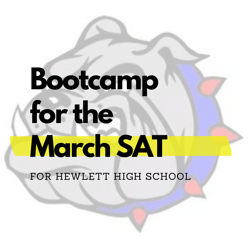 Virtual SAT Bootcamp for Hewlett High School
